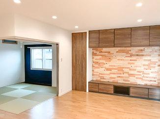 マンションリフォーム 天井が高く、風通しの良い広々とした快適な住まい