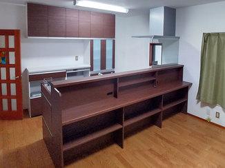 キッチンリフォーム こだわりキッチンを中心に一新した水廻り&室内