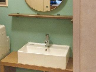 洗面リフォーム イメージチェンジした気分が上がる洗面所